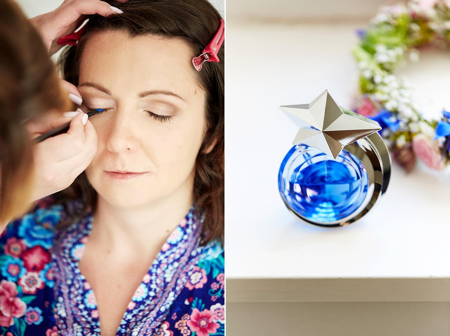 Ein Parfüm mit einem Sternverschluss