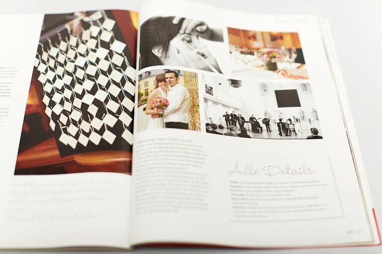 Hochzeitsfotograf in Hannover erhält eine Veröffentlichung im Brautmagazin
