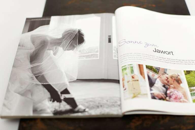 Bilder einer Hochzeit im Gästehaus Wolfsbrunn im Braut & Bräutigam Magazin