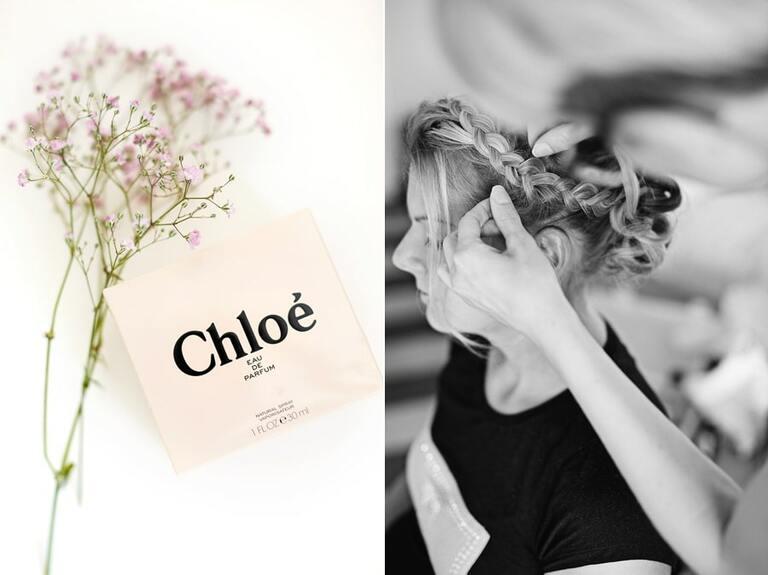 Ein Parfüm mit der Aufschrift Chloe