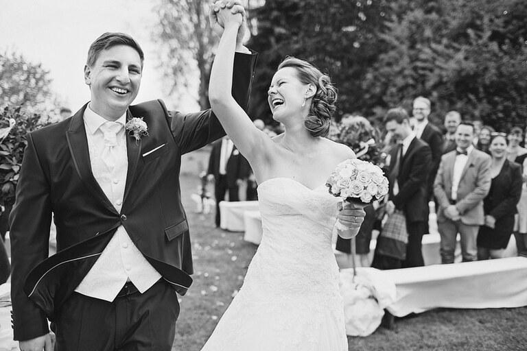 Ein Hochzeitsbild aus unserem Jahresrückblick 2015