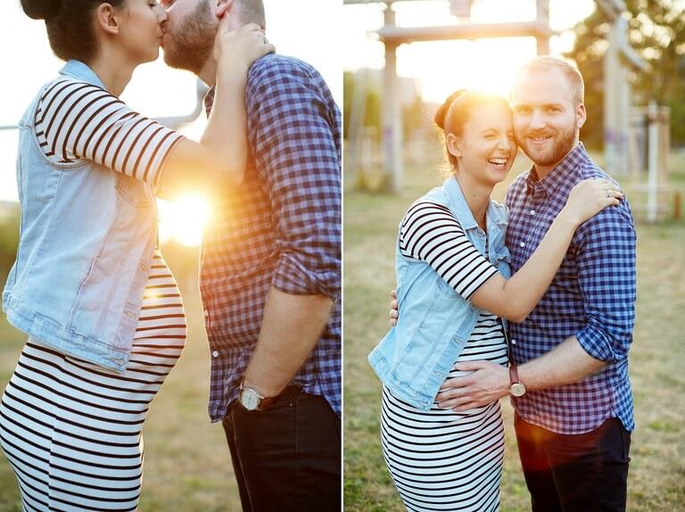 Schwangerschaftsfotos fotografiert vom Fotografen