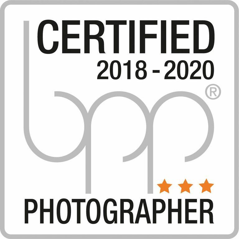 bpp Logo mit Drei Sternen als Auszeichnung als Fotograf