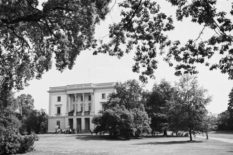 Das weiße Haus im Markkleeberg