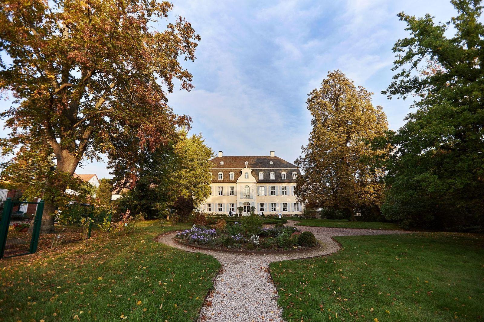 Das Rittergut Ermlitz mit seinem englischen Garten