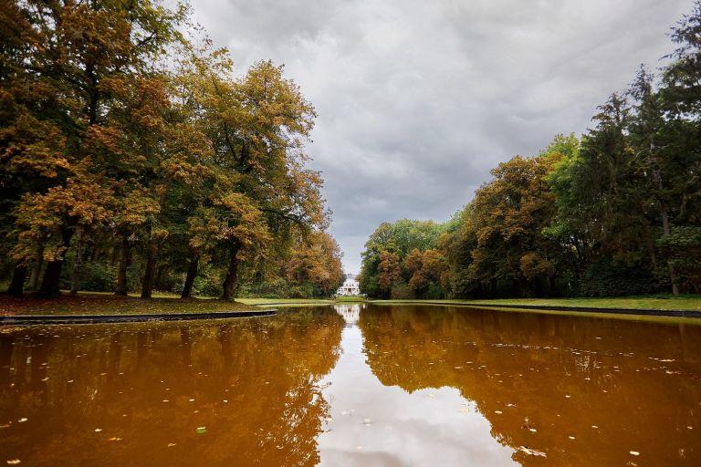 Der Schlosspark von Schloss Teutschenthal